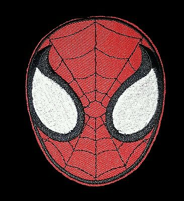 SPIDERMAN FACE iron on patch