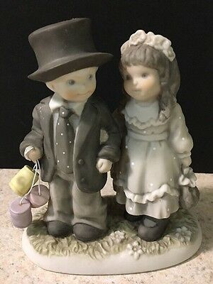 Enesco Kim Anderson Always and Forever Bride & Groom 245755 Cake Topper Figurine