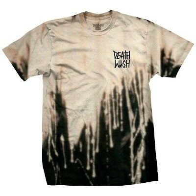 DEATHWISH Skateboards T-Shirt *The Truth*, bleached, beige, Gr. L  **Fall '17**