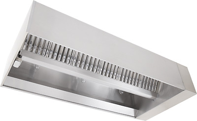 Captive Aire 6' L 430 Stainless Steel Make-Up Air Hood (Complete)