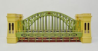 Lionel Prewar 300 Hellgate Hells Gate Bridge Original Green Cream Standard Gauge