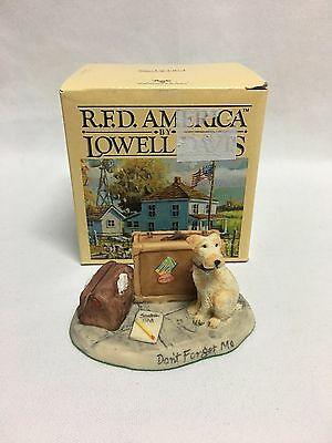 Lowell Davis Don't Forget Me Figurine Mint w/ Box MIB