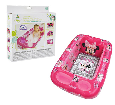 Disney Minnie Mouse Inflatable Safety Bathtub, Pink