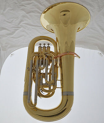 Professional JINBAO Gold Eb TUBA with Compensating system, Bell 482mm,