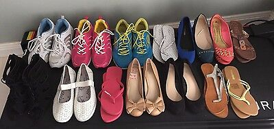 Bulk lot of ladies shoes .15 pairs.Excellent condition,some brand new. Size 8