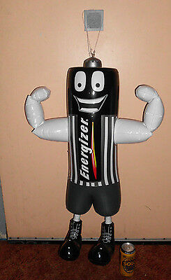 80's ENERGIZER BATTERY BATTERIES PROMO STORE ADVERTISING INFLATABLE DISPLAY SIGN
