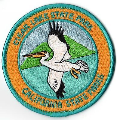 "Clear Lake State Park 3.25"" Patch - California State Parks"