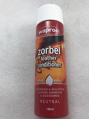 Zorbel Leather Conditioner Waproo150 ml For all smooth leather