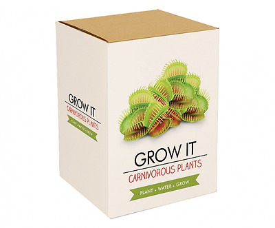 *BEST Plant Seeds, Grow Your Own Carnivorous Plants, Starter Pots Compost Gift