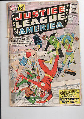 JUSTICE LEAGUE of AMERICA #5 comic/from 1961/Wonder Woman/WAY BELOW GUIDE!