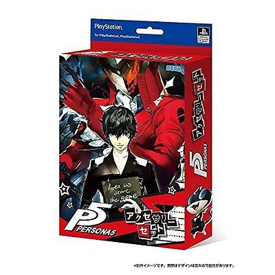 SEGA P5 Persona 5 Accessory Set from Japan Persona5 NEW Japan new .