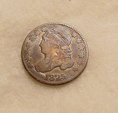 1825 Capped Bust Dime - Nice Looking Coin