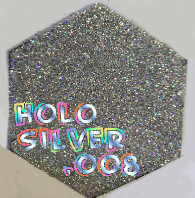 Holo Blue 008 Custom Baby Book Flake Invitation Solvent Resistant DeCor Walls
