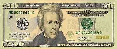 USA: 2013 Uncirculated Twenty Dollar Federal Reserve Banknote (Cleveland)