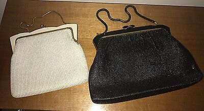 Oroton Mesh Bags 1960s - A Lot of Two Bags