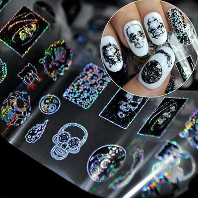 1PC Nail Water Decal Transfer Manicure Nail Art Stickers DIY Tips Decoration LH