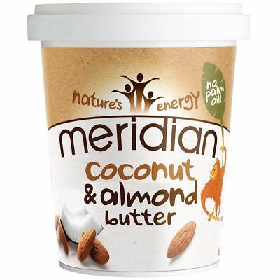 Meridian Foods Natural Coconut & Almond Butter 454g