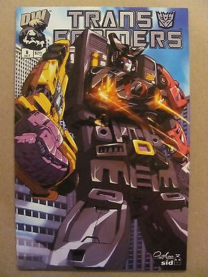 Transformers G1 #6 Dreamwave 2002 Series Cover B 9.4 Near Mint