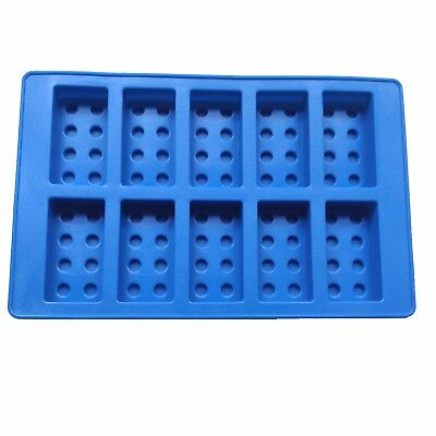 Silicon Chocolate Baking Mold Building Bricks Men Man Robot Figures  Mould Lego