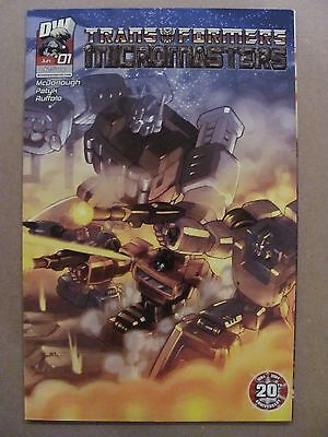 Transformers Micromasters #1 Dreamwave 2004 Series Variant 9.4 Near Mint