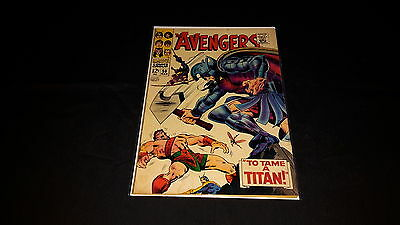 Avengers #50 - Marvel Comics - March 1968 - 1st Print
