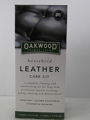 Oakwood complete care kit for housesld furniture,leather & car interior.