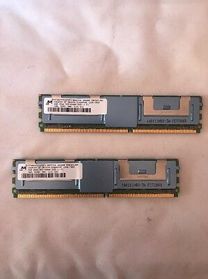 8GB (2x4GB) 2Rx4 PC2-6400F Fully Buffered ECC Server RAM DDR2 800
