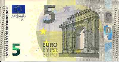 2013 Uncirculated Five Euro Banknote