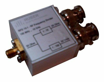 HUBER SIGNAL PROCESSING RFD 10-1 Frequency Divider Frequenzteiler Counter Zähler