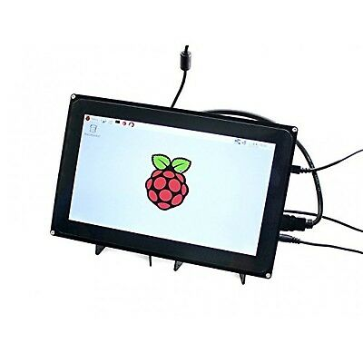 Waveshare Raspberry Pi 10.1inch HDMI LCD Capacitive Touch Screen with Case fo...