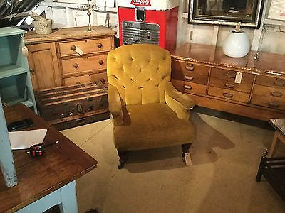 Howard and sons style armchair