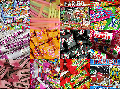 100 MIXED SWEETS Kids Childrens Party Bag Fillers Wedding Favours Prizes Rewards