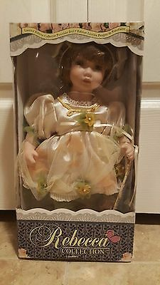 "Rebecca Collection Limited Edition 12"" Fine Porcelain Doll"