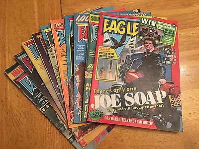 10 Eagle Comics From July, Aug, Sept 1982
