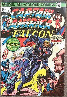 Captain America and the Falcon #180 Marvel Comics 1974 1st Appearance of Nomad