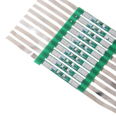 10X 3A Protection Board For 3.7V 18650 Li-ion lithium Battery W/ Solder Belt FYU