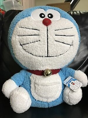 Doraemon Plush doll soft stuffed toy Taito BIG Prize  With Real Bell