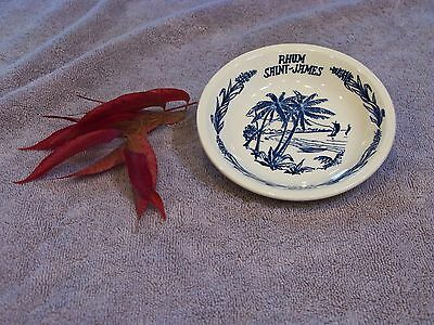 French Rhum Saint-James Martinique Gien Tip Dish