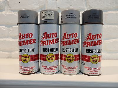 Lot of 4 Vintage Rust-Oleum Spray Paint Cans