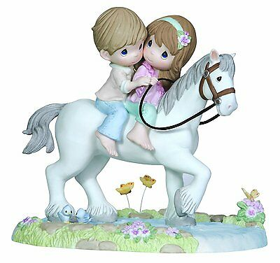 "Precious Moments ""in My Dreams, I'm Always With You""122015 Horse Couple/bnib"