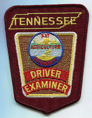 Tennessee Driver Examiner Patch /// State Police /// Highway Patrol
