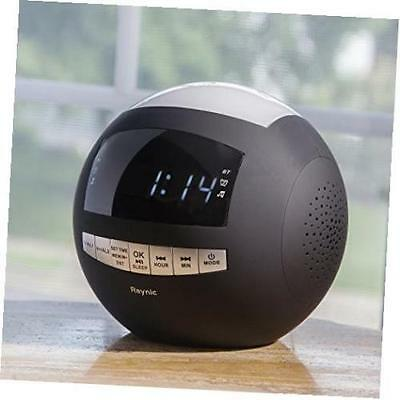 rca digital clock radio with 2 dual alarm fm am radio station presets rp3721a cad. Black Bedroom Furniture Sets. Home Design Ideas