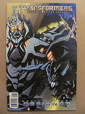 Transformers Revenge of the Fallen Movie Prequel Defiance #1 IDW 2009 RI Variant