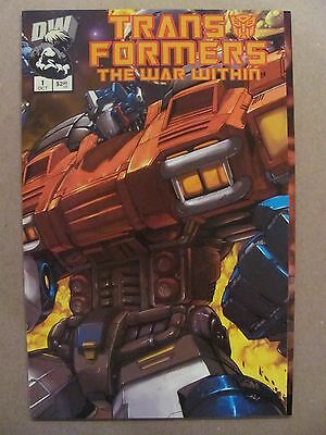 Transformers The War Within #1 Dreamwave 2002 Series 9.4 Near Mint