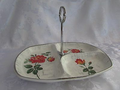 Midwinter Stylecraft Fashion shape  RETRO 1960  divided serving dish with handle