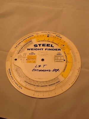 Alcott Calculator Steel Weight Finder
