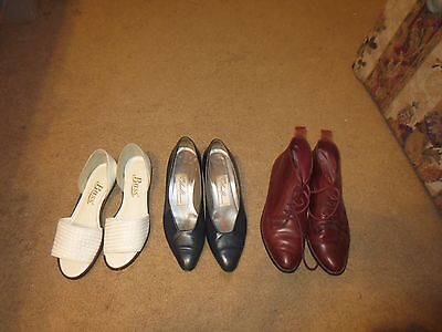 Lot Of 3 Ladies Size 5.5 Shoes