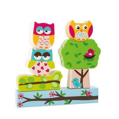 Stacking game Owl forest, magnetic Ast:14x2,5x2,5cm