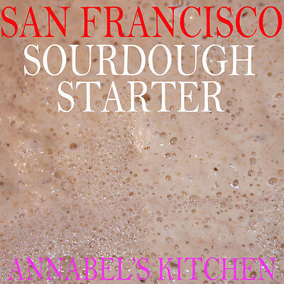 ANNABEL'S - SAN FRANCISCO - SOURDOUGH STARTER  BREAD 50gm