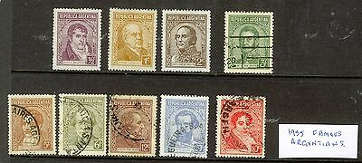 Argentina - 1935 Portraits - Used